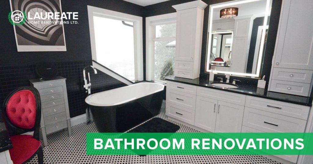Laureate Home Renovations custom bathroom renovations