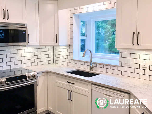 Langley custom kitchen renovations by Laureate Home Renovations